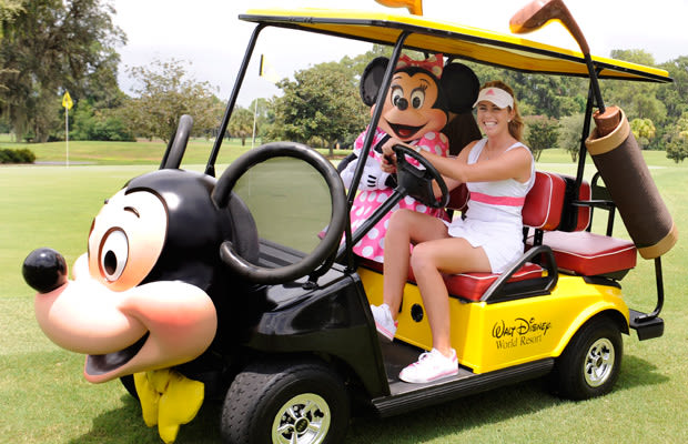 Rolls Royce Golf Cart >> Mickey Mouse Mobile - 25 Crazy Golf Carts | Complex