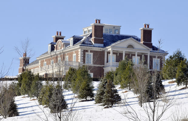 The chase mansion the 25 largest homes in the united for Largest houses in the us