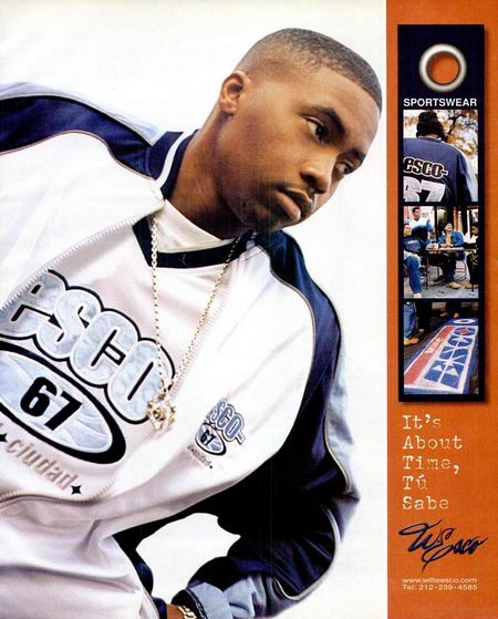 nas for esco2 the 90 best hiphop fashion ads of the