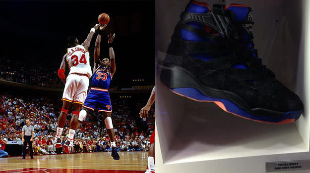 Patrick Ewing in the Ewing Athletics Image