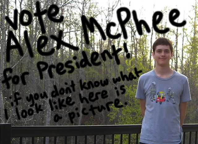 Here is a picture - 25 Hilarious Student Council Campaign ...
