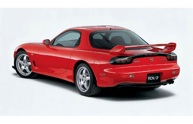 mazda rx 7 the 25 best cars of the 39 90s complex. Black Bedroom Furniture Sets. Home Design Ideas