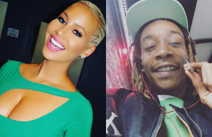 Amber Rose & Wiz Khalifa Celebrate Divorce Settlement at Strip Club news