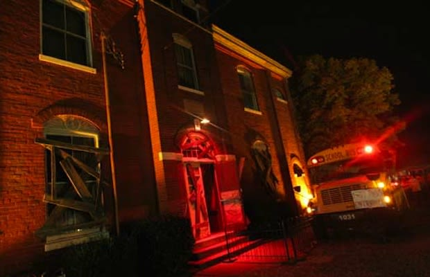 The Dent Schoolhouse The 10 Most Extreme Haunted Houses