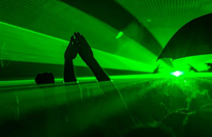 Man fills lubricant dispenser with hydrochloric acid at Sydney gay club