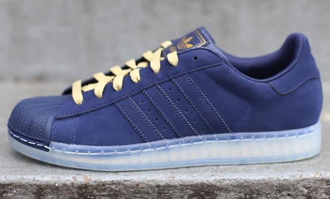 adidas superstar clear blue