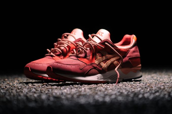 asics gel lyte v rose gold ebay