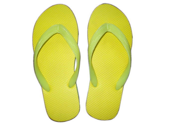 Flip-flops can cause foot problems.