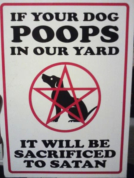 Save Your Dog From Satan The 25 Funniest Quot Curb Your Dog