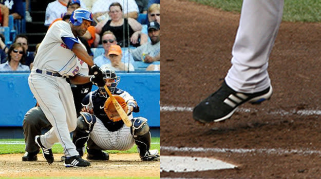 Carlos Delgado in adidas Cleats