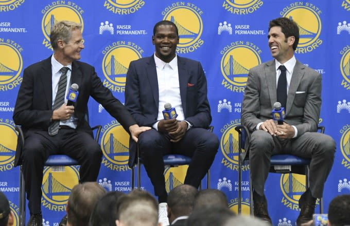 Kerr: Calling Durant a villain for leaving Thunder is 'absurd'