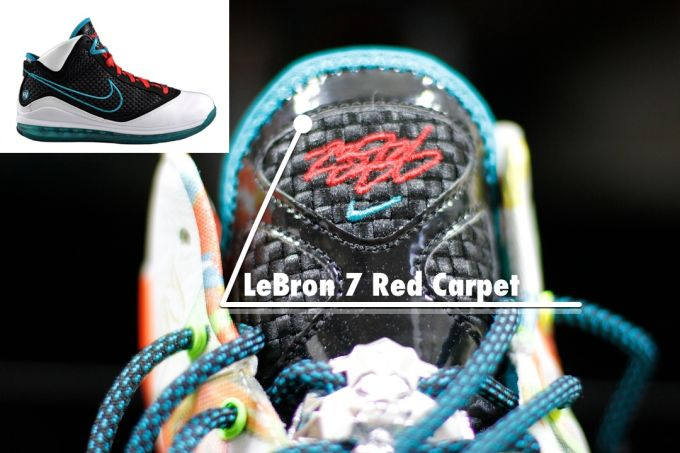 lebron 8 red carpet every lebron sneaker in the nike