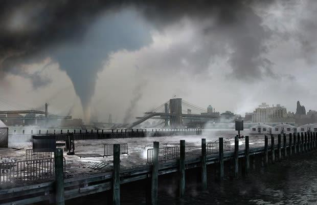 Hurricane sandy pictures shark