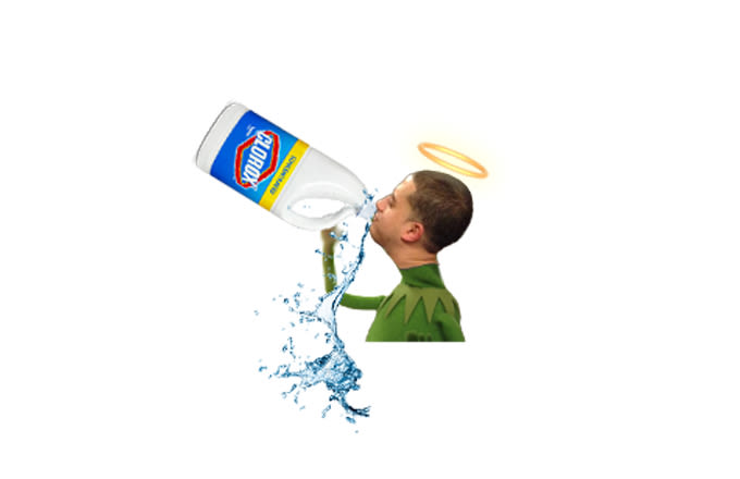 MJ Teaching Me Kung-Fu - Boxden Roasted Complex Writer ...Kermit Drinking Bleach