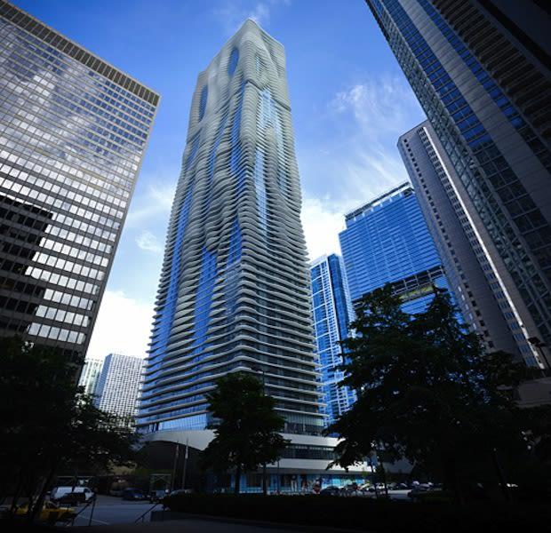 Aqua - The 25 Coolest Apartment Buildings