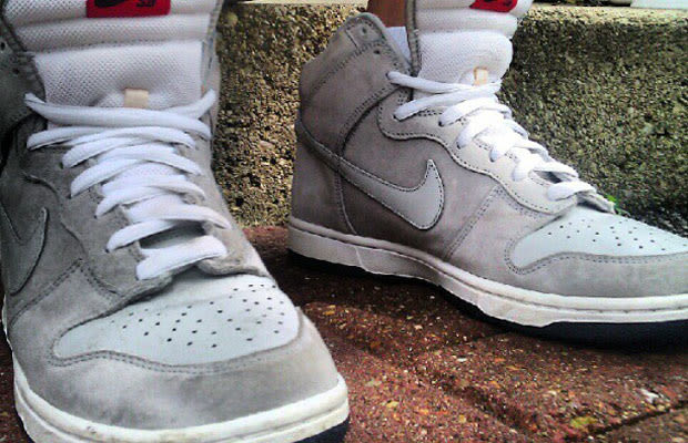 Nike dunk high sb pee wee herman