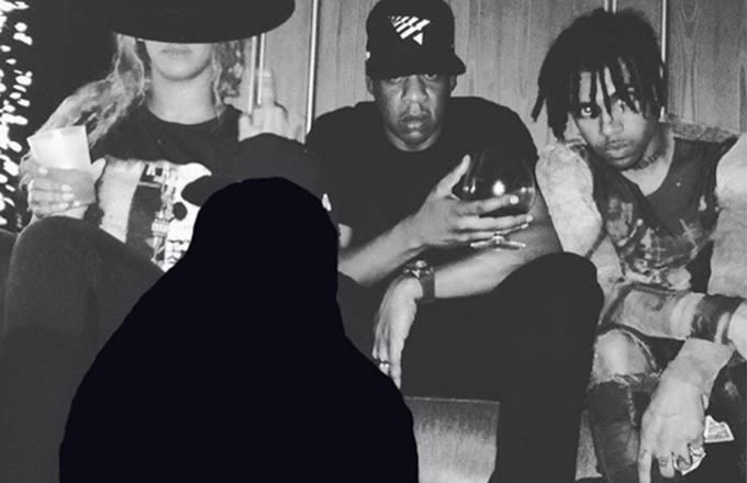 Vic Mensa Photoshops Chance the Rapper Out of Photo With Jay Z and Beyoncé news