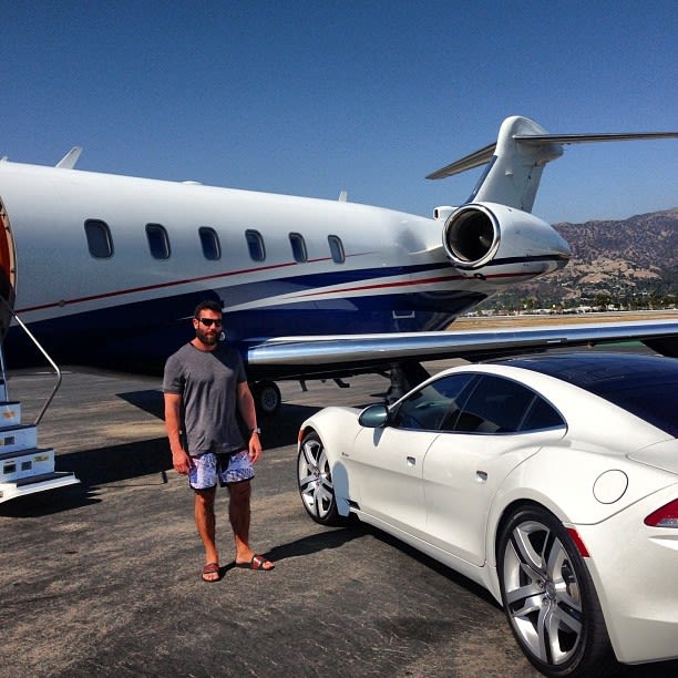 photo of Dan Bilzerian Cobra - car
