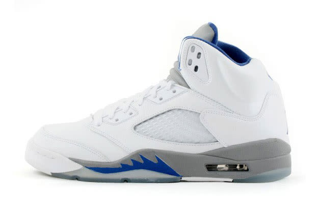 Air Jordan V \\u0026quot;White/Sport Royal/Stealth\\u0026quot;