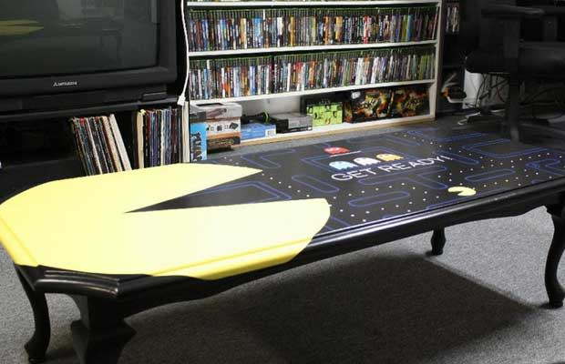 Pac Man Table 25 Pieces Of Cool Video Game Inspired