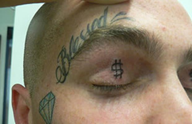 11 25 creepy eyelid tattoos complex. Black Bedroom Furniture Sets. Home Design Ideas