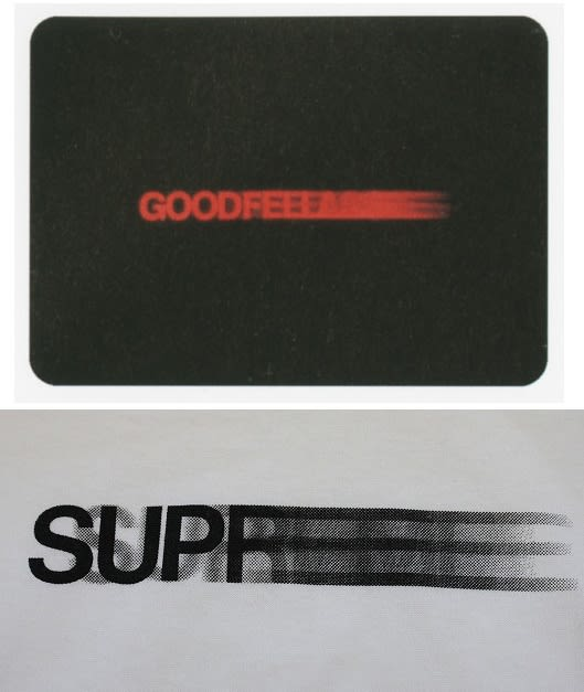 The supreme motion logo is inspired by the title sequence of 1990 s