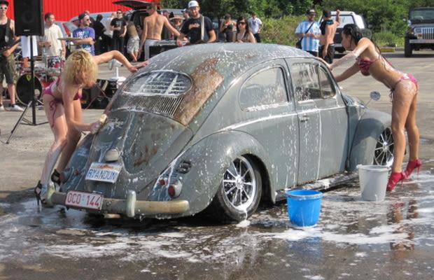 hot girls washing cars № 509782
