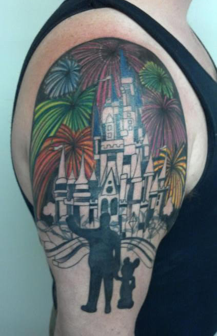 Worst Disney Tattoos: 16. What Is Up Walt Disney's Sleeve This Time?