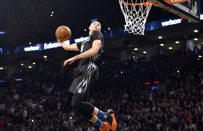Like Nike39;s Releasing the Sneakers Zach LaVine Won the Dunk Contest In