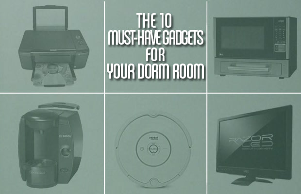 Lead image the 10 must have gadgets for your dorm room for Top 10 living room gadgets