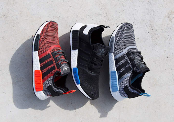 Cheap Adidas Originals NMD Runner PK Black TRČS BIEN