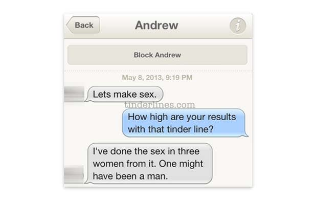 Opening jokes for online dating