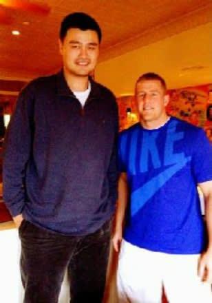 J.J. Watt - Gallery: Yao Ming Making 34 Other Pro Athletes ...