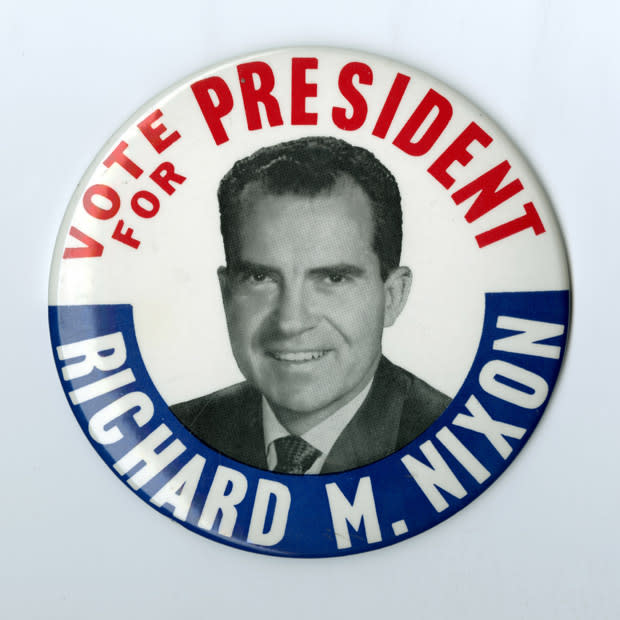 Richard Nixon Watchmen: Vote For President Nixon Button