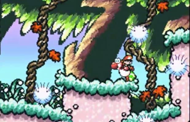 Super Mario World  Yoshi S Island Touch Fuzzy Get Dizzy