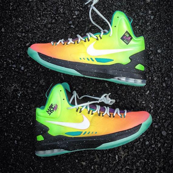 huge discount 2cc00 58c59 Nike Zoom KD 5 Elite Anti Nerf Customs