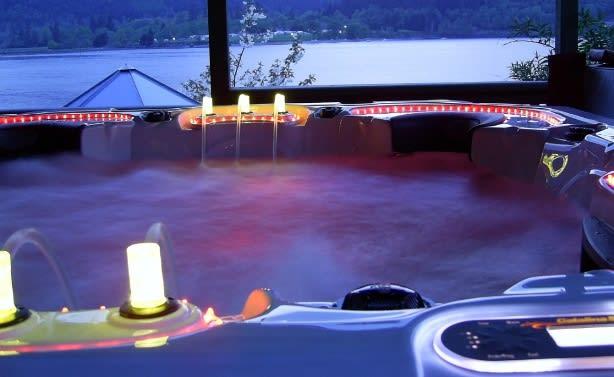 Purple Led Light Hot Tub The 30 Coolest Hot Tubs