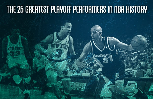 Hakeem Olajuwon - The 25 Greatest Playoff Performers in ...