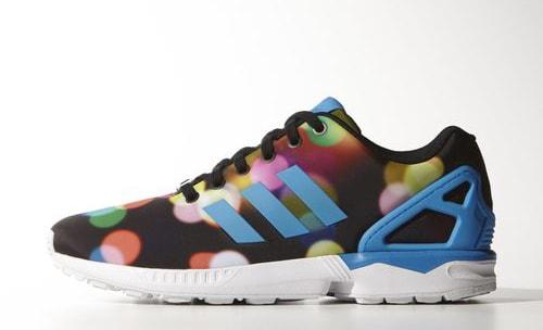 cafd63475 Mens Shoes - adidas Originals ZX Flux Slip On - Solar Blue   Solar ...