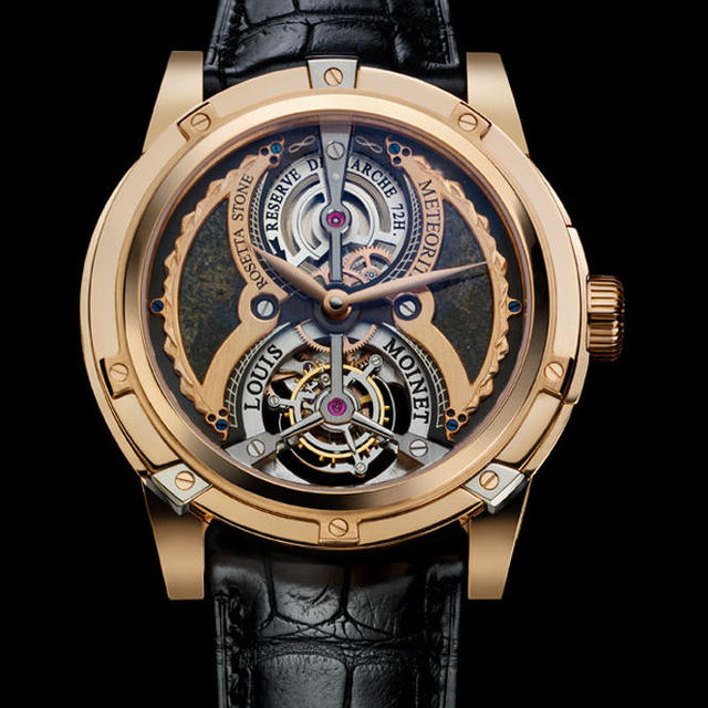 Louis moinet meteoris watch 25 watches over 1 million complex for Louis moinet watch