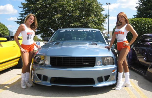 Saleen Mustang - 25 Photos of Hooters Girls and Cars | Complex