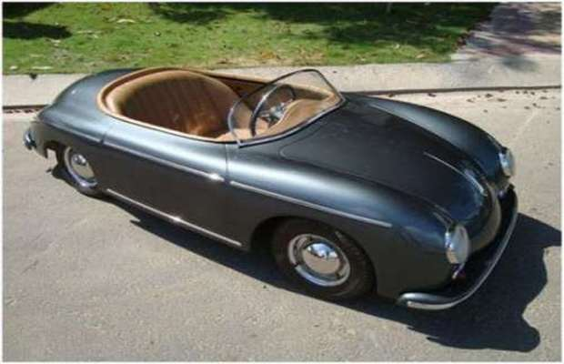 1 2 scale porsche 356 the 25 craziest kids cars complex uk for Motorized cars for 5 year olds