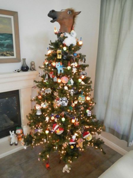 20 Inappropriate Items Placed on Christmas Trees | Complex