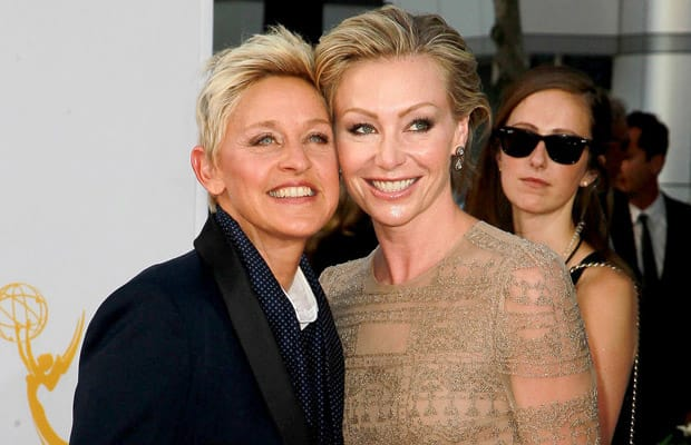 Before she started going out with Ellen Degeneres, Portia de Rossi ...