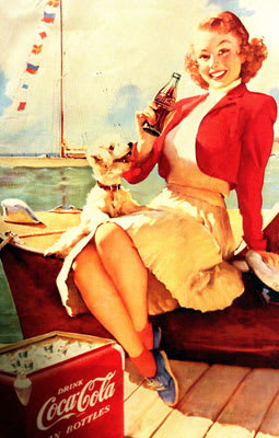 9 The 25 Hottest Women In Vintage Coca Cola Ads Complex