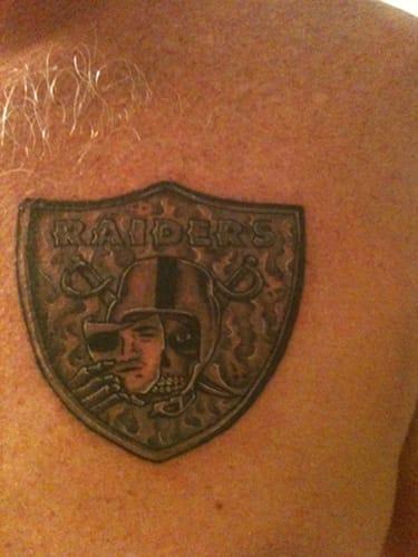 4 the 10 best raider nation tattoos complex for Raider nation tattoos