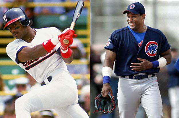 A comparison of sammy sosa and mark mcgwire baseball players