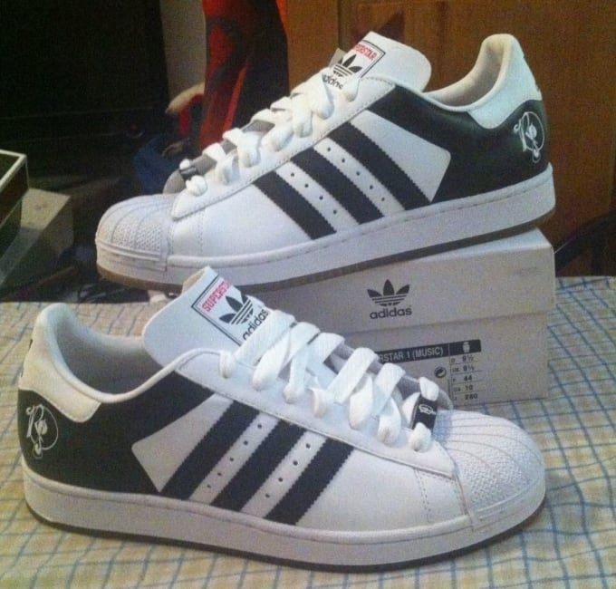 Rockafella Records X Adidas 35th Anniversary Superstar