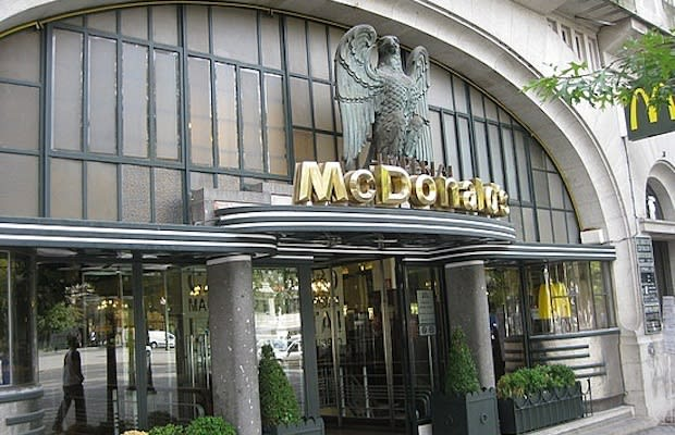 fist mcdonalds location
