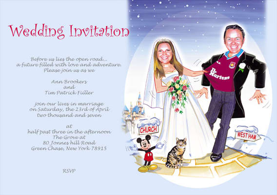 Humor Wedding Invitations: 10 - 25 Hilariously Awful Wedding Invitations